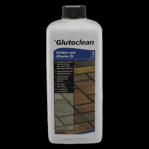 Glutoclean Spezialreinigungsmittel Klinker und Pflaster Öl 1 Liter