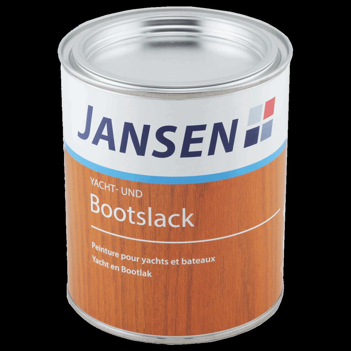 Jansen Yacht  und Bootslack Klarlack