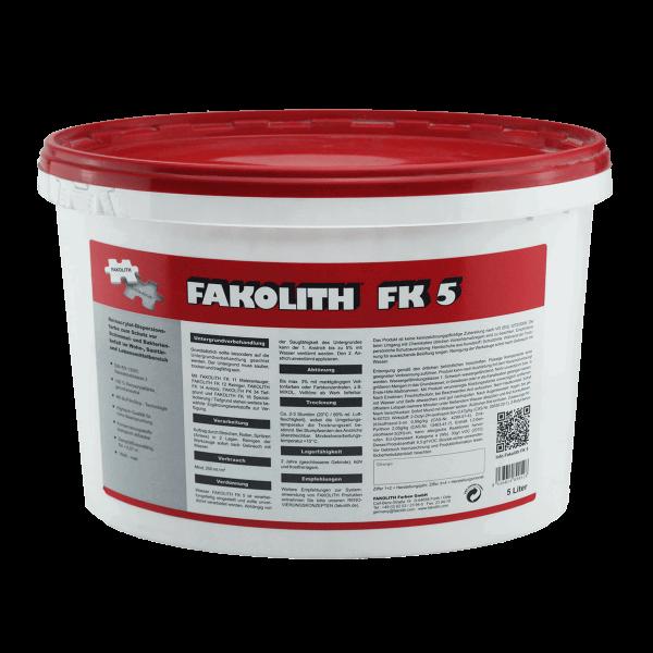 Fakolith Anti-Schimmelfarbe FK 5 5 Liter
