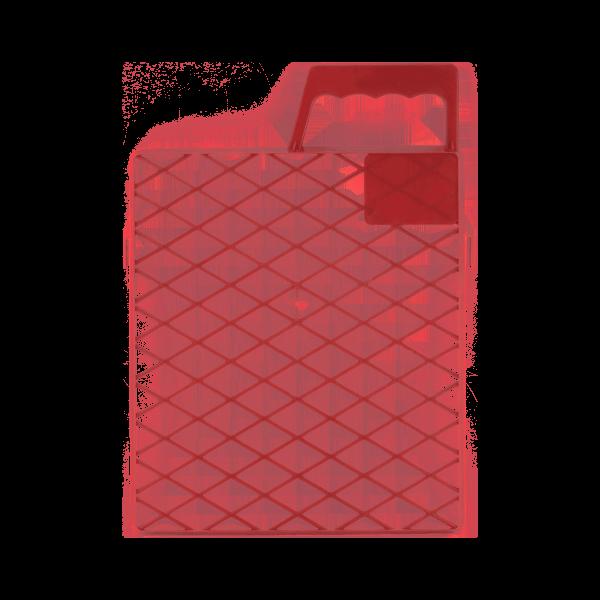 Schuller Abstreifgitter für Großflächenwalzen Drop 22 x 26 cm