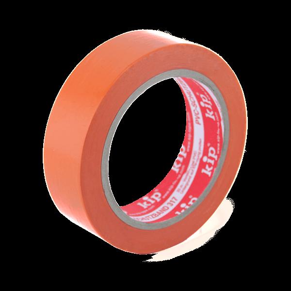 Kip PVC-Band Schutzband orange 317 30mm stehend