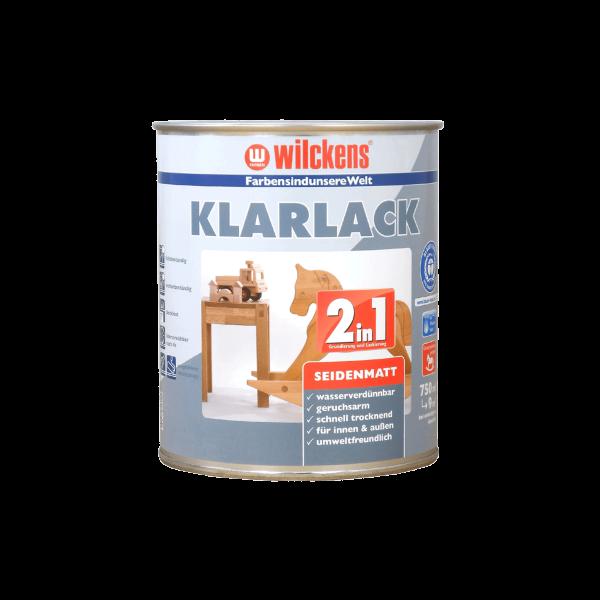 Wilckens Klarlack 2 in 1