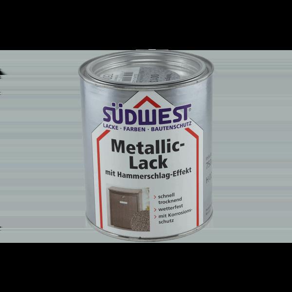 Metallic Effekt Wandfarbe Liter Grundpreis Uackg: SÜDWEST Metallic-Lack Mit Hochglanz-Hammerschlag-Effekt