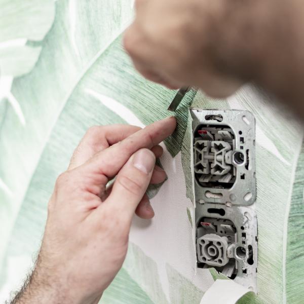 Richtig Tapezieren Steckdosen entfernen