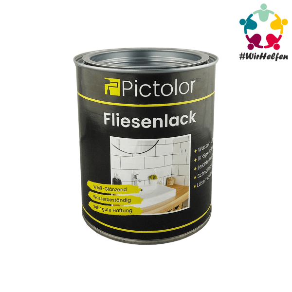 Pictolor® Fliesenlack Spendenartikel