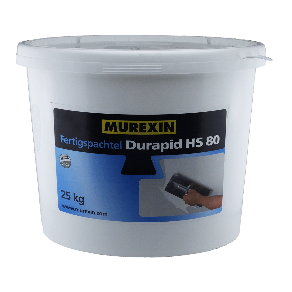 murexin gipsspachtelmasse fertigspachtel durapid hs 80 | ebay